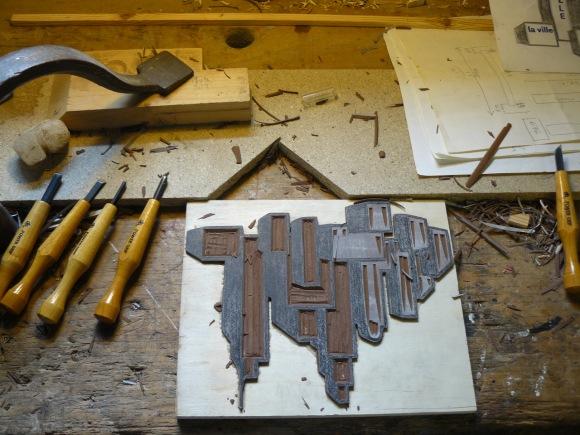 L'atelier de gravure