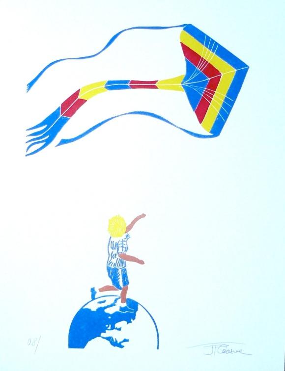 le cerf volant