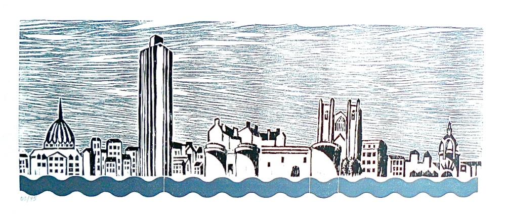 GALERIE DES GRAVURES : linogravures et gravures sur bois linocut and woodcut (1/6)