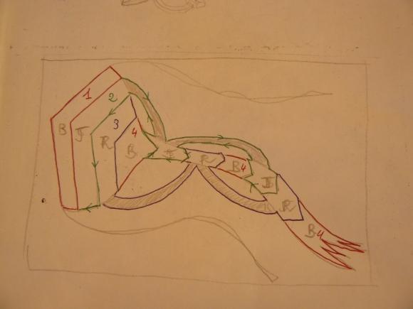 dessin cerf volant