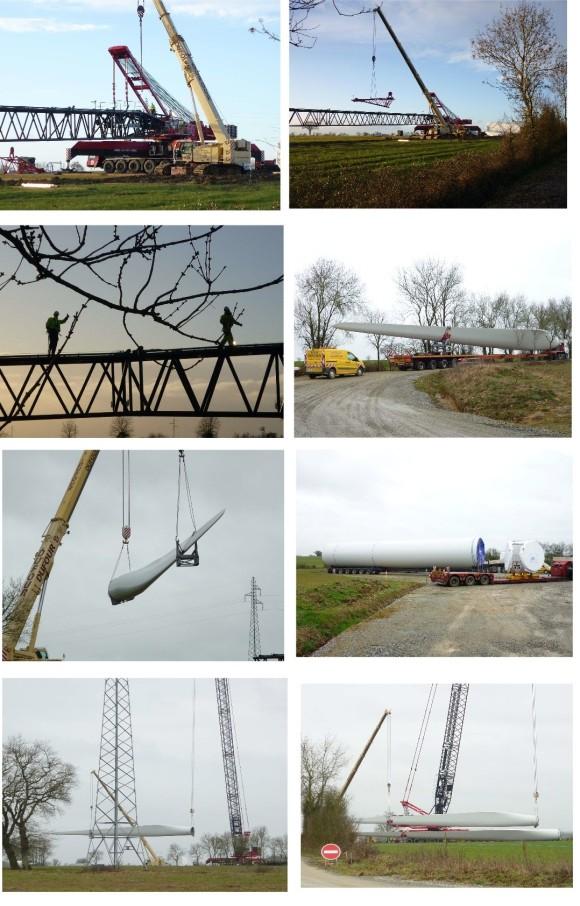 arrivée éoliennes
