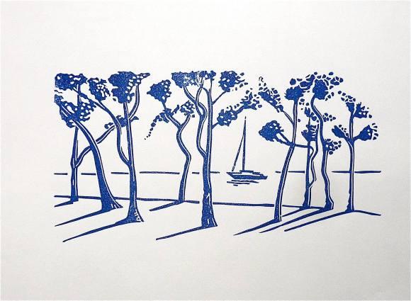 les pins bleus - 2