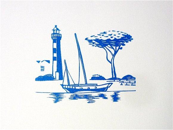 phare et bateau