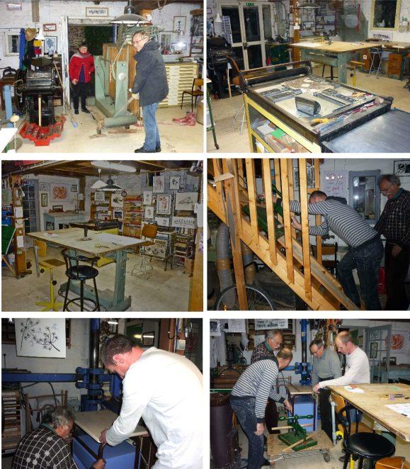 nouvel aménagement de l'atelier 1