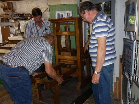 installation presse gutenberg